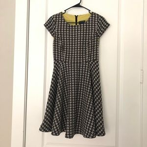 Anthropologie Maeve fit and flare dress